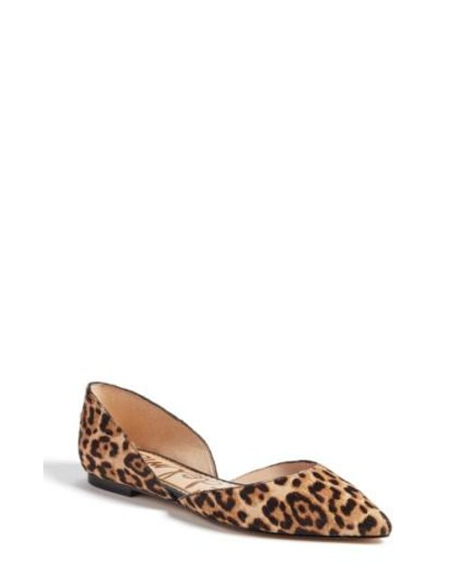 Sam Edelman - Multicolor Rodney Pointy Toe D'orsay Flat - Lyst