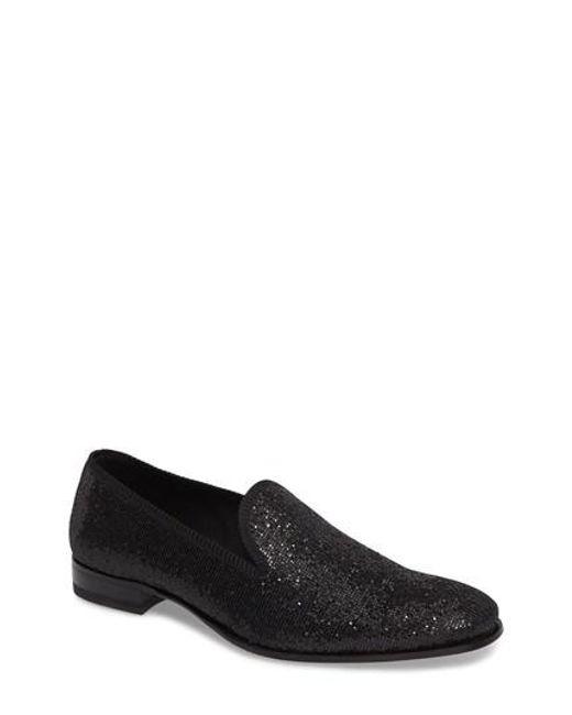 Mezlan | Black Matisse Venetian Loafer for Men | Lyst