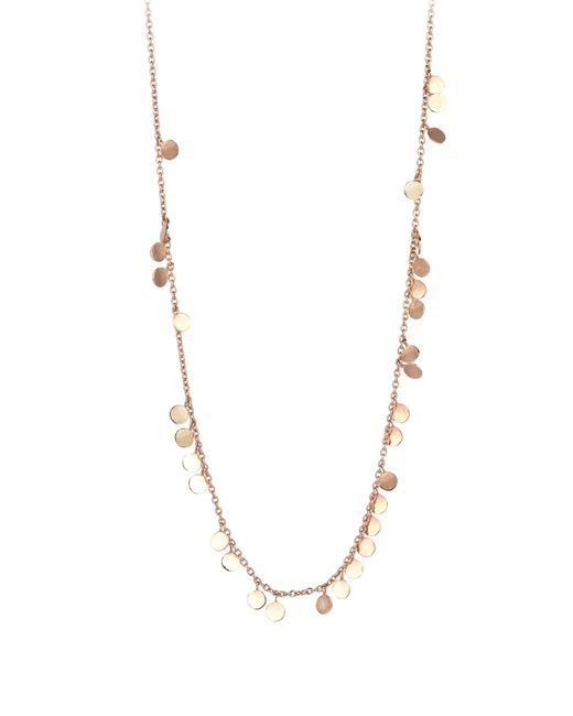 Kismet by Milka - Metallic Dangling Circles Pendant Necklace - Lyst