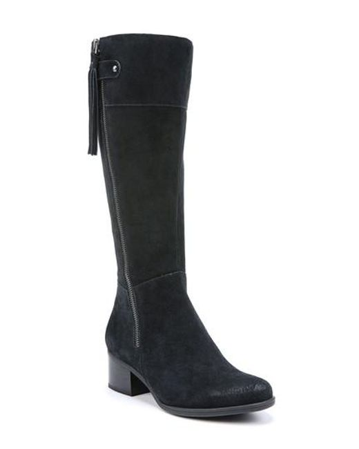 Naturalizer | Black Demi Mid Calf Boot | Lyst