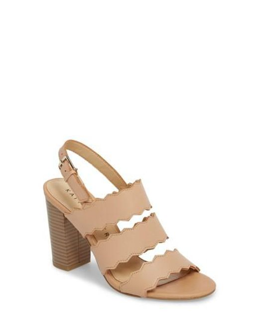 Katy Perry - Natural Open Toe Sandal - Lyst