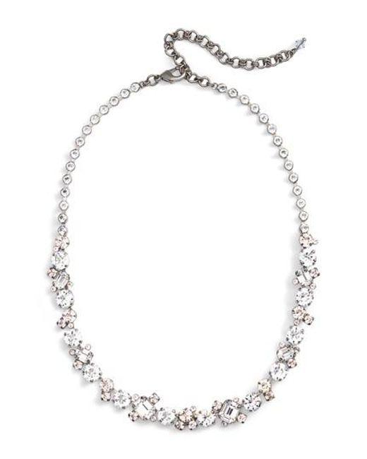 Sorrelli | Multicolor Crystal Collar Necklace | Lyst