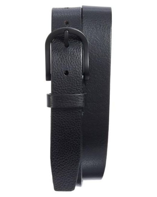 Bosca | Black Heavyweight Leather Belt for Men | Lyst