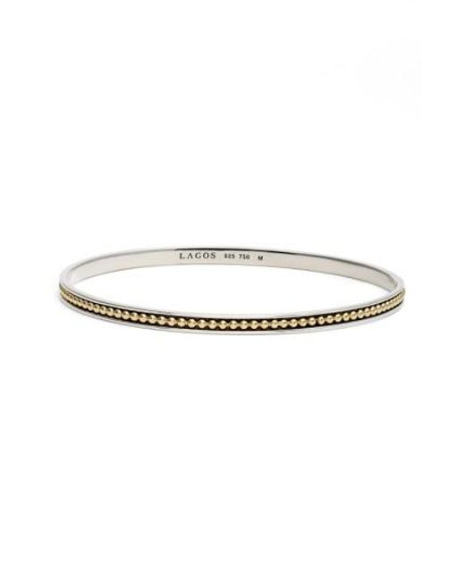 Lagos | Metallic 'enso' Caviar Bangle | Lyst