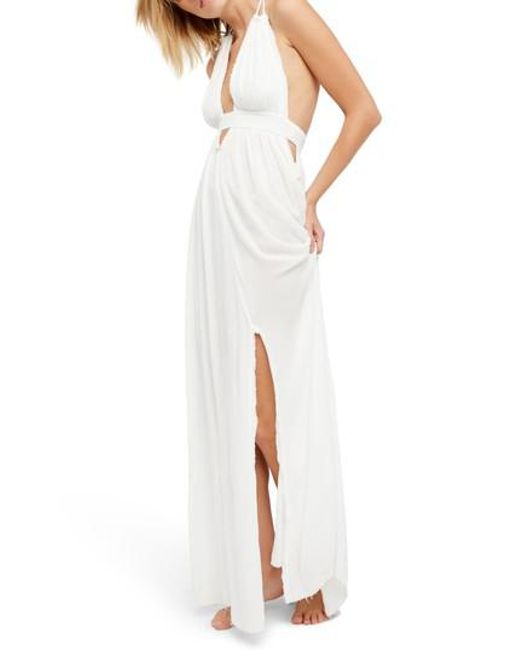 Free People - White Endless Summer By Look Into The Sun Maxi Dress - Lyst