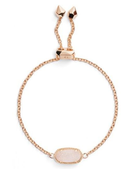 Kendra Scott   Metallic Elaina Bracelet   Lyst