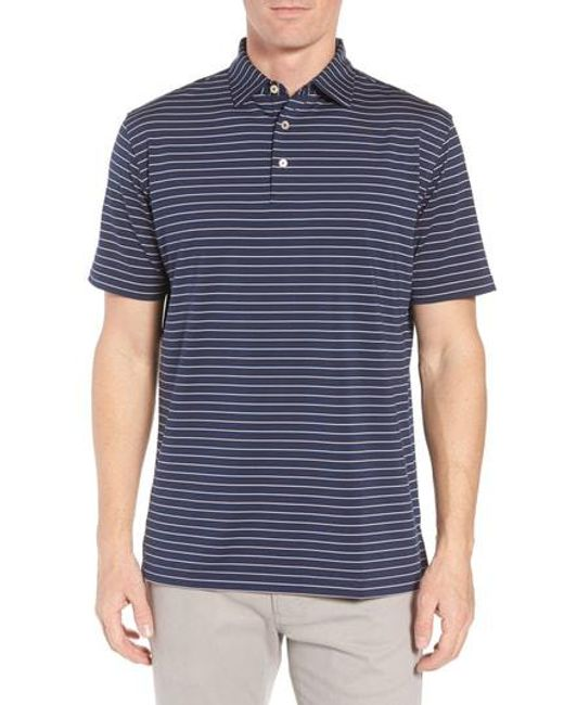 Latest Collections Sale Online Greyson Saranac Trim Fit Feeder Stripe Polo Discount Outlet Extremely For Sale 5lBnD1Q3