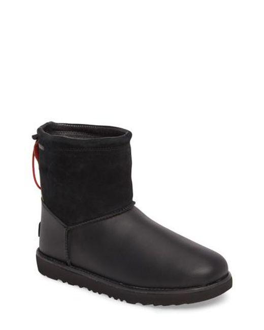 Ugg - Black Ugg Classic Waterproof Boot - Lyst