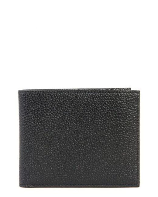 Boconi   Black Garth Leather Bifold Wallet for Men   Lyst