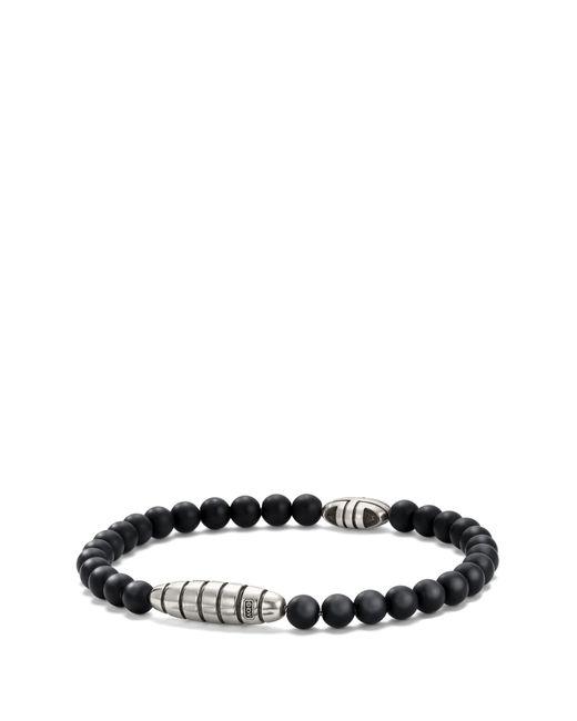 David Yurman - Southwest Bead Bracelet In Black Onyx for Men - Lyst