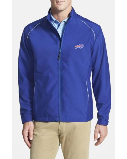 Cutter & Buck - Blue 'buffalo Bills - Beacon' Weathertec Wind & Water Resistant Jacket for Men - Lyst