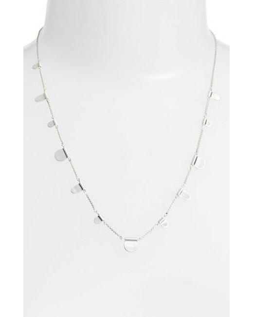 Kendra Scott - Metallic Olive Necklace - Lyst