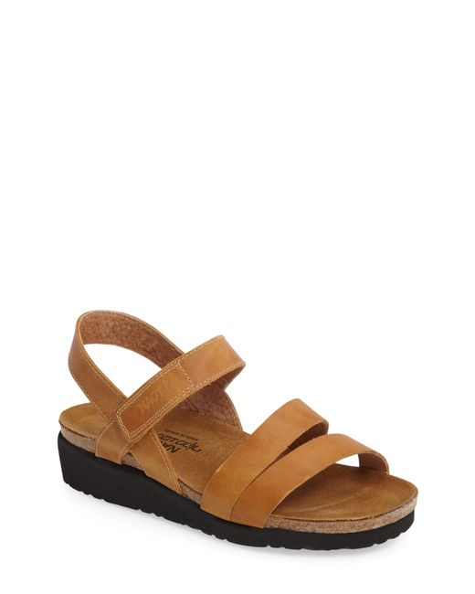 Naot - Brown 'kayla' Sandal - Lyst