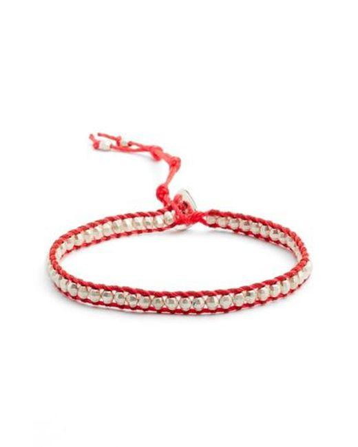 Chan Luu - Red Beaded Bracelet - Lyst