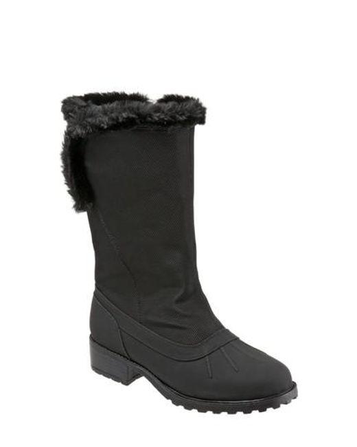 Trotters - Black Bowen Waterproof Boot - Lyst