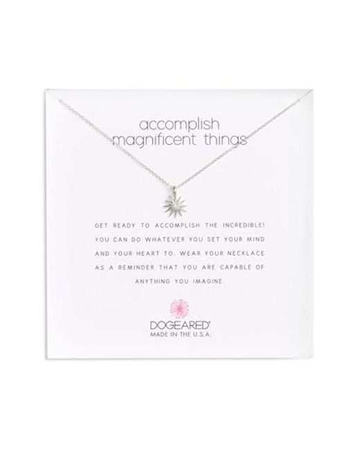 Dogeared   Metallic Starburst Pendant Necklace   Lyst