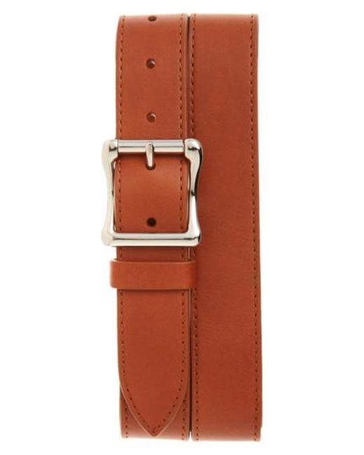 Shinola - Natural Leather Roller Belt for Men - Lyst