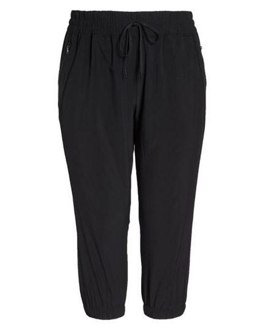Zella | Black Out & About Crop Jogger Pants | Lyst