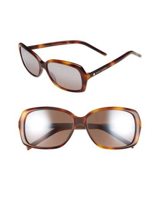 Marc By Marc Jacobs - Multicolor Marc Jacobs 57mm Sunglasses - Havana - Lyst