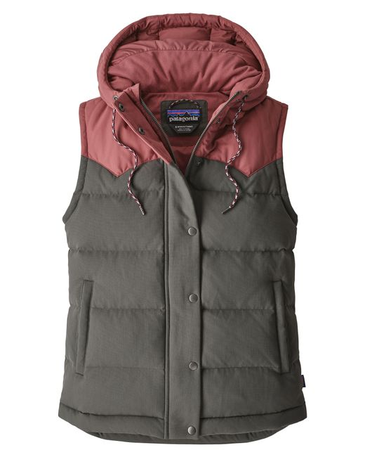 Patagonia - Blue 'bivy' Water Repellent 600 Fill Power Down Vest - Lyst