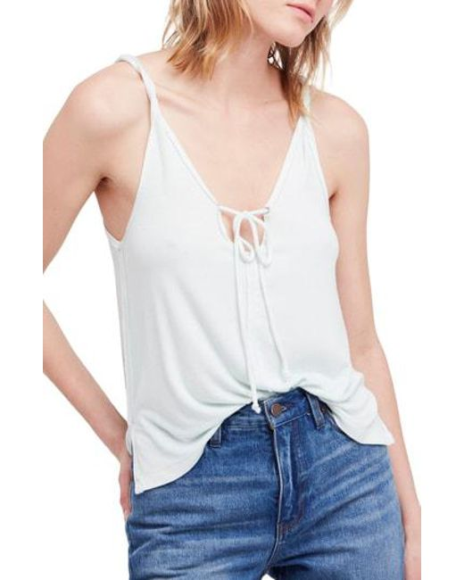 Free People - White We The Free By Scarlett Tank - Lyst