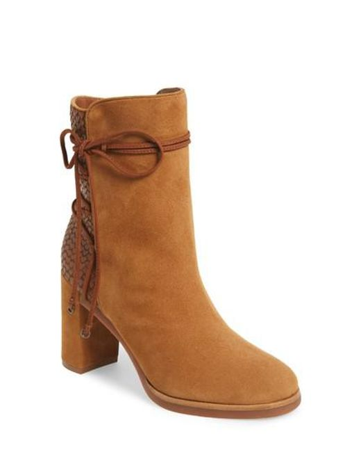 Johnston & Murphy | Brown Adley Ankle Wrap Boot | Lyst