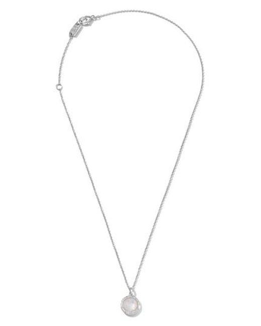 Ippolita - White 'rock Candy - Mini Lollipop' Pendant Necklace - Lyst
