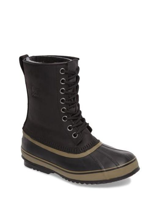 Sorel | Black ® Men ́s Waterproof 1964 Pactm Nylon Boots for Men | Lyst