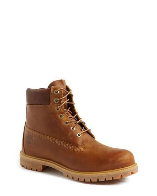 Timberland Men's 'Premium Heritage' Round Toe Boot