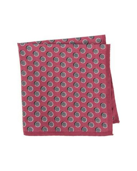 Ted Baker - Multicolor Dot Silk Pocket Square for Men - Lyst