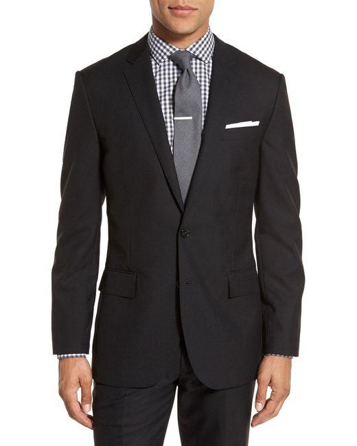 J.Crew - Black Ludlow Trim Fit Solid Wool Sport Coat for Men - Lyst