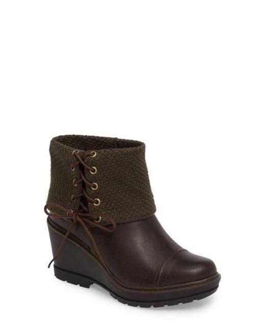 Timberland | Brown Kellis Fold Down Water Resistant Boot | Lyst