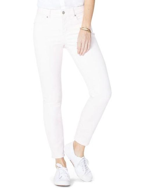 NYDJ | White Alina Ankle Jeans | Lyst