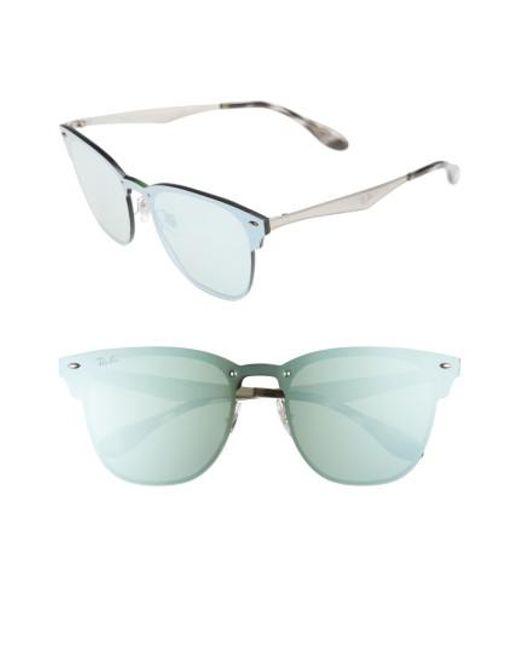 Ray-Ban - Metallic Wayfarer 42mm Sunglasses for Men - Lyst