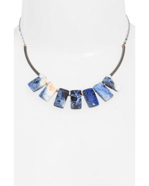 Nakamol | Blue Cirrus Lapis Pendant Necklace | Lyst