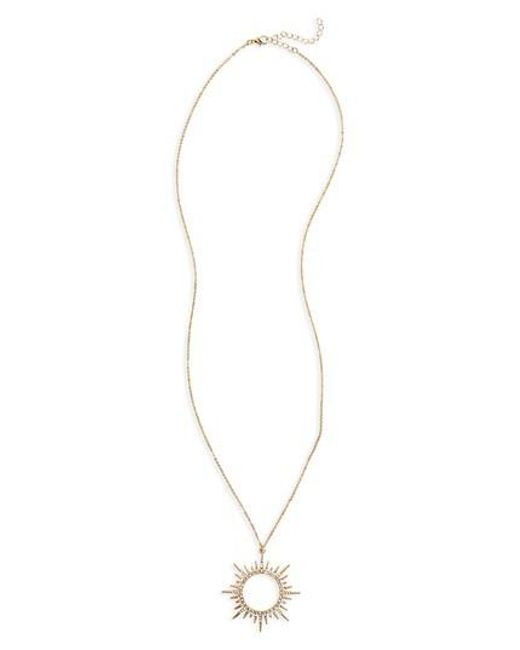 SHOSHANNA LEE | Metallic Starburst Pendant Necklace | Lyst