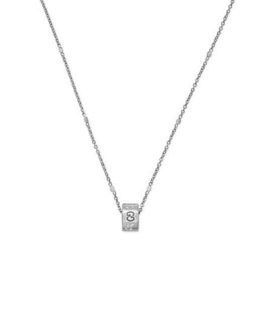 Gucci | Metallic Icon Pendant Necklace | Lyst