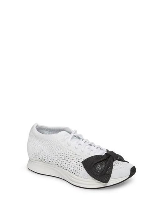 Comme des Garçons - White X Nike Bow Flyknit Racer Sneaker - Lyst