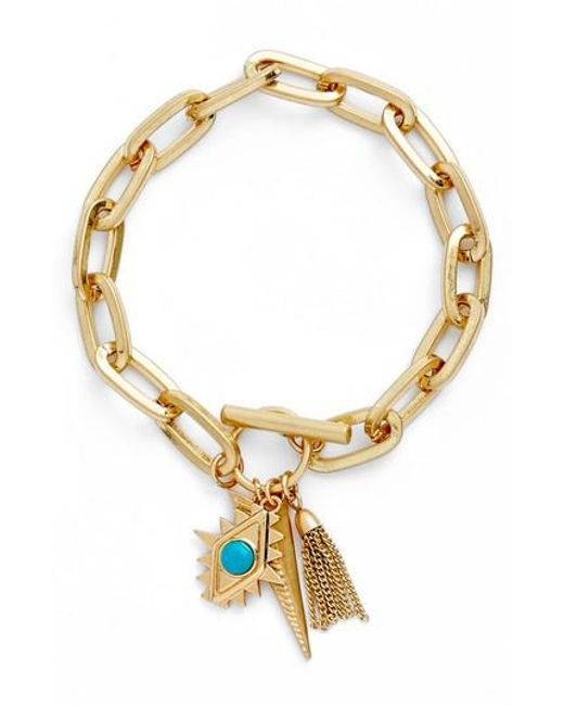 Rebecca Minkoff Perfect Chain Paisley Bracelet GPHEO
