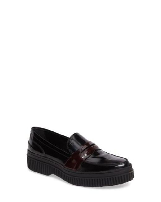 Tod's Women's Penny Creeper Loafer Nxl2cRNF1y