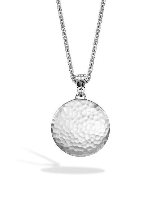 John Hardy - Metallic 'dot' Pendant Necklace - Lyst