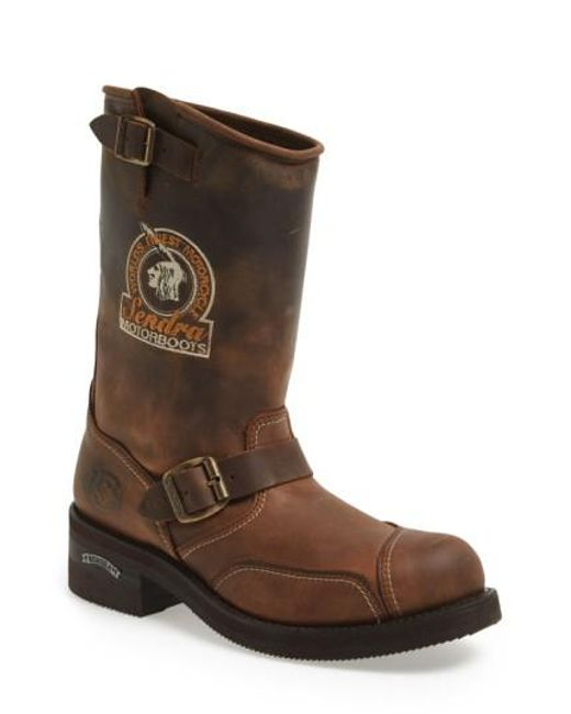 Sendra | Brown 'rider' Motorcycle Boot for Men | Lyst