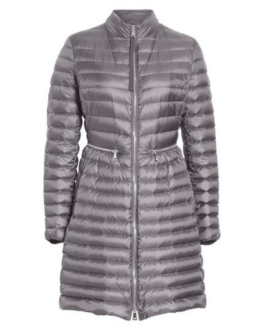 Moncler   Gray Agatelon Quilted Puffer Coat   Lyst