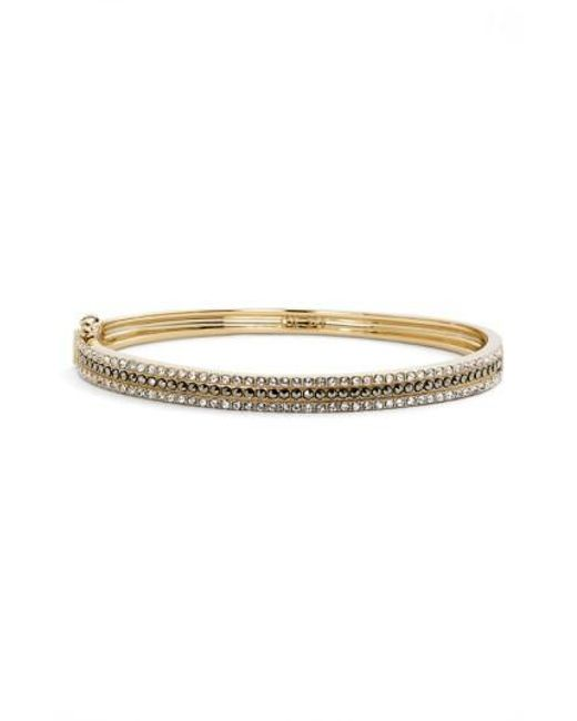 Judith Jack   Metallic Three Row Bangle Bracelet   Lyst