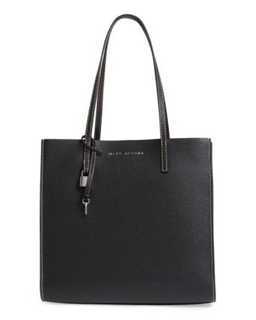 Marc Jacobs | Black The Grind East/west Leather Shopper | Lyst