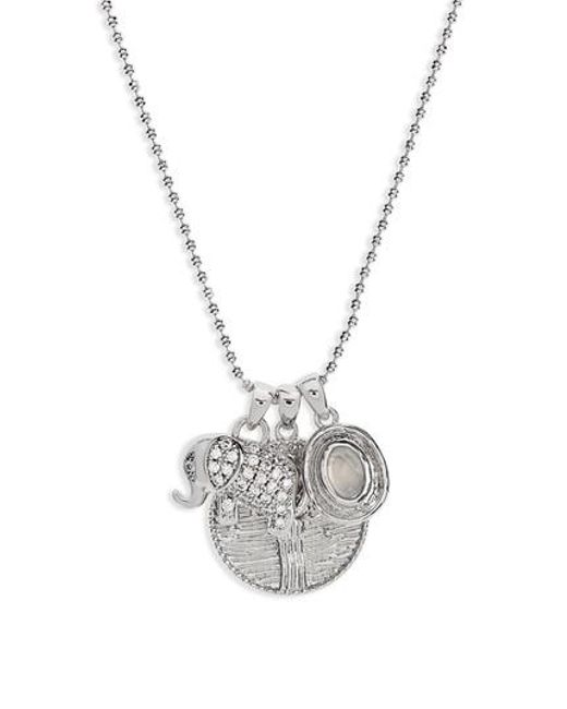 Melinda Maria - Metallic Goddess Of Prosperity Pendant Necklace - Lyst