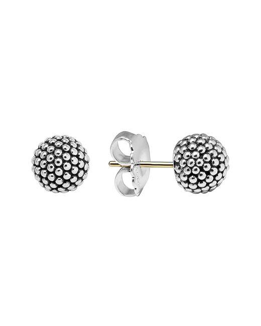 Lagos - Metallic 'columbus Circle' Ball Stud Earrings - Lyst
