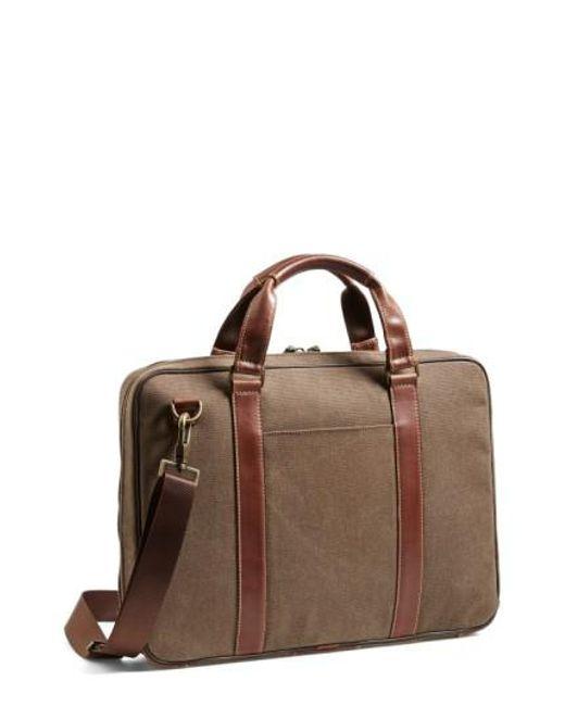 Boconi   Brown 'bryant' Briefcase for Men   Lyst