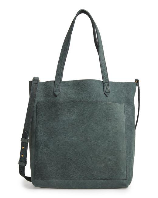 Madewell - Blue Medium Leather Transport Tote - - Lyst