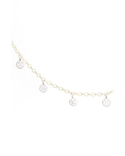 Meira T - Metallic Meria T Diamond Disc Collar Necklace - Lyst